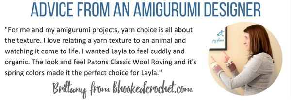 Amigurumi Yarn Advice from Bhooked Crochet