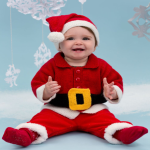 Bitty Baby Santa Suit