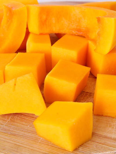 How to peel & cut butternut squash