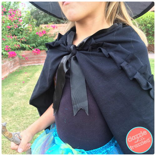 Halloween DIY Witch Cape