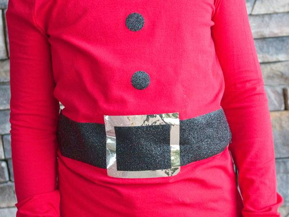 Make a Faux Santa Shirt