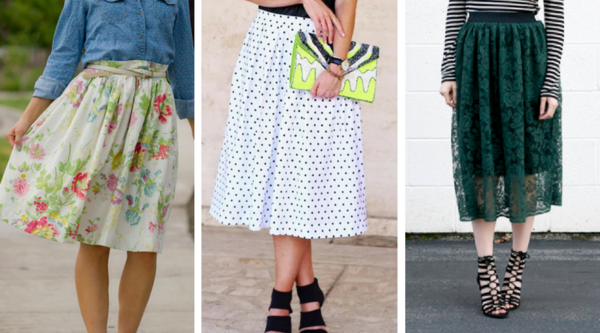 Trendy Sewing Patterns for Skirts