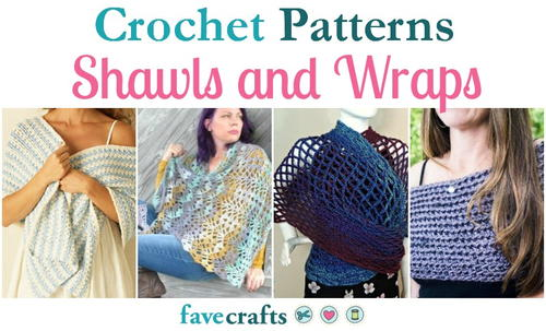 23 Crochet Shawls Patterns and Wraps