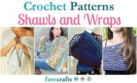 23 Crochet Shawl Patterns and Wraps