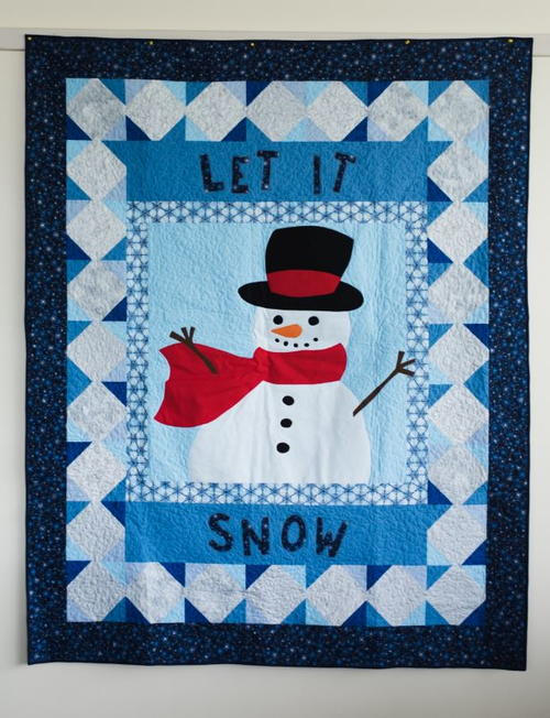 Let It Snow Quilt Pattern Allfreesewing Com