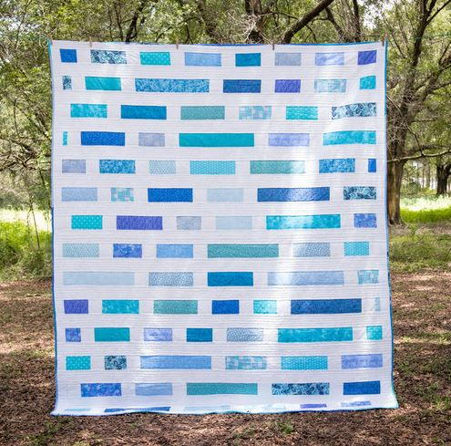 Take a Break Strip Quilt Pattern
