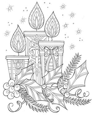 18 Christmas Coloring Pages Pdf Downloads Favecrafts Com