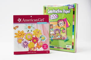 American Girl Crafts and Construction Paper Giveaway
