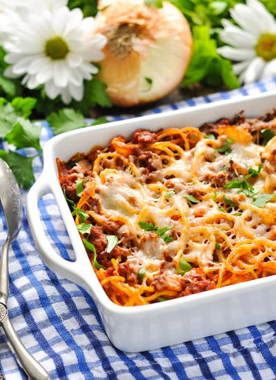 5-Ingredient Amish Baked Spaghetti