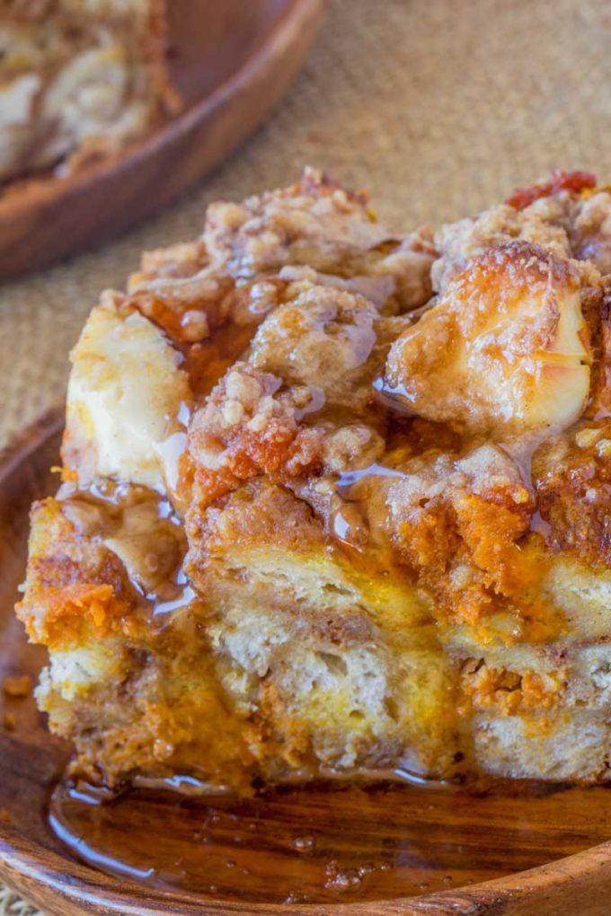 Fall Pumpkin French Toast Bake Favesouthernrecipes Com