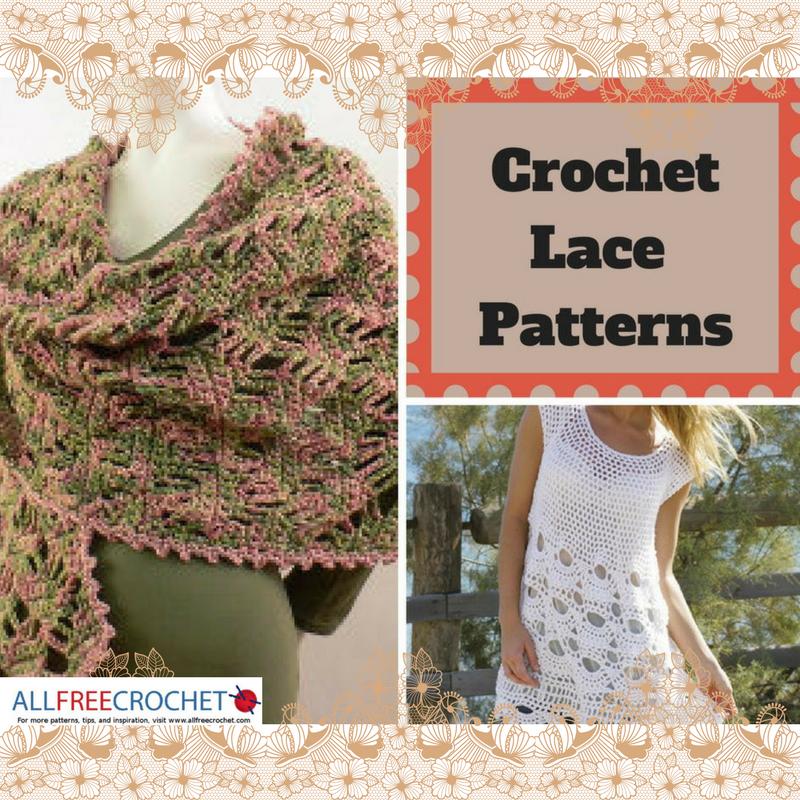 34 Crochet Lace Patterns Allfreecrochet