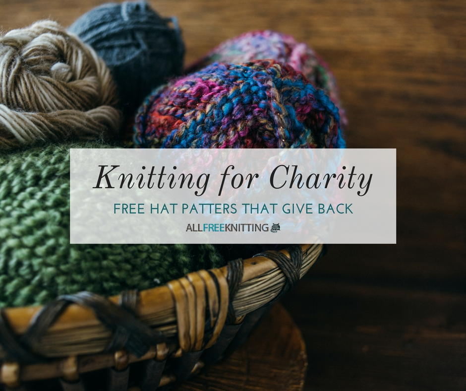 knitting for charity  30 hat patterns