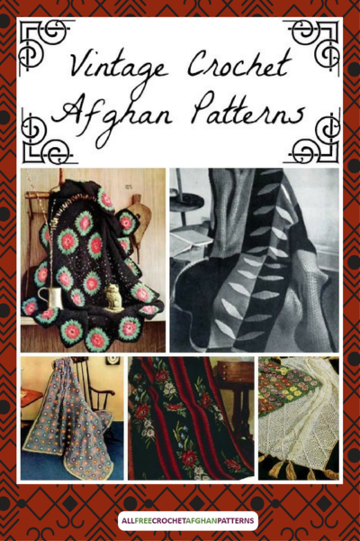 30 Vintage Crochet Afghan Patterns
