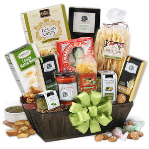 GourmetGiftBaskets.com Tour of Italy Gift Basket Giveaway