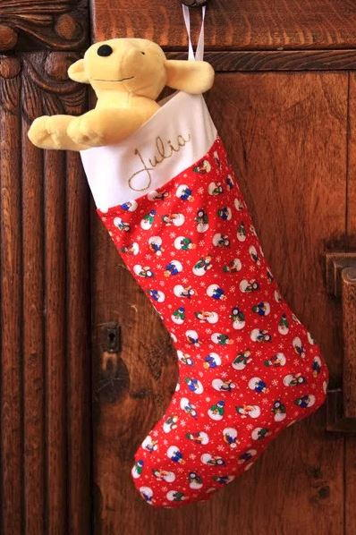 The Right Size Sew Christmas Stocking