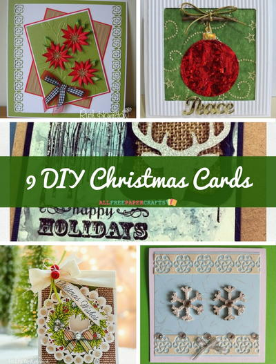 9 DIY Christmas Cards