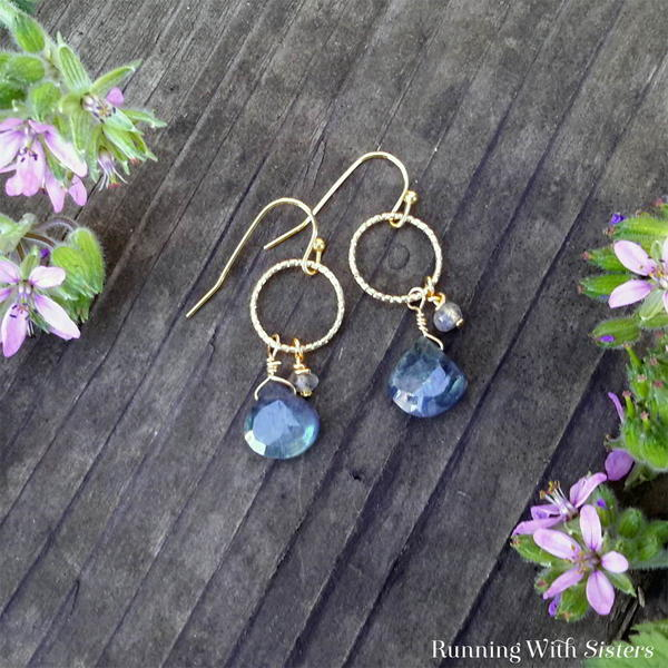 Elegant and Easy Gemstone Earrings
