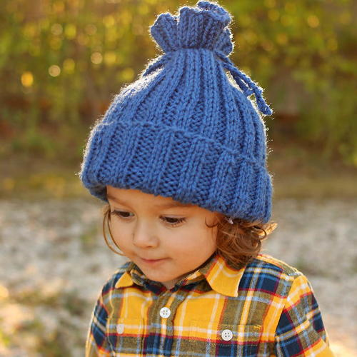 No-Brainer Knit Hat Pattern. By  Gina Michele ... e797b47d947d