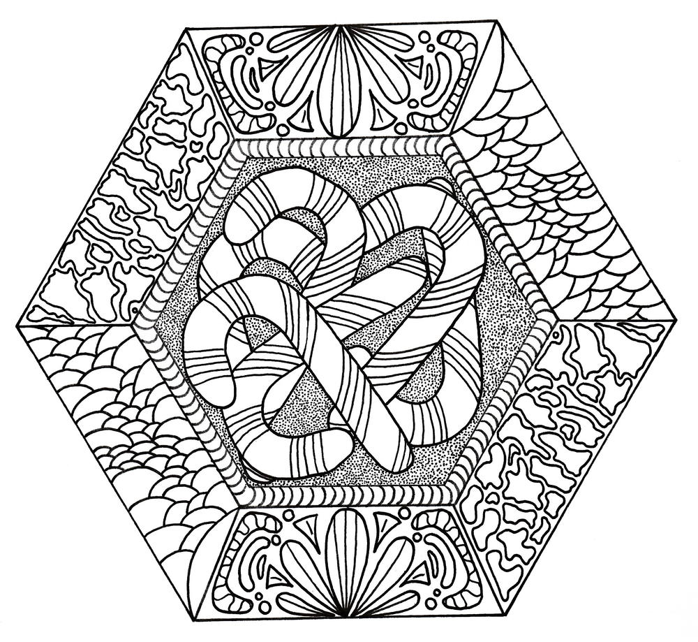 candy canes galore coloring page favecrafts com