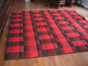 Plaid for Dad Comfort Quilt Pattern