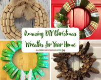 25+ Amazing DIY Christmas Wreaths for Your Home