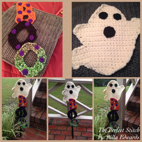 Ghostly Boo Garden Stake