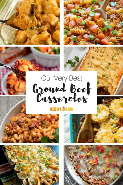Ground Beef Casserole Recipes Youll Love