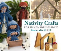 7 DIY Nativity Crafts for Handmade Holidays