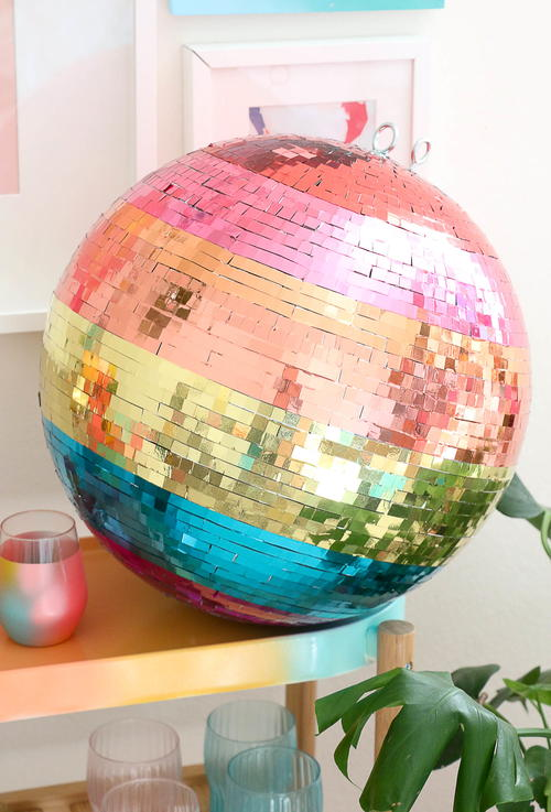 Rainbow Disco Ball