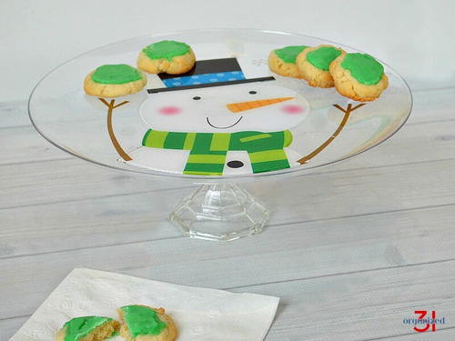 DIY Cake Plate Stand