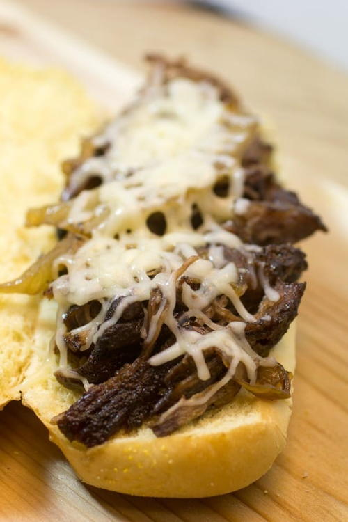 French Onion French Dip Sandwich
