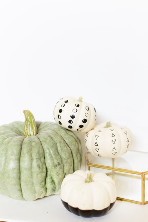 Last Minute Painted Pumpkin Crafts