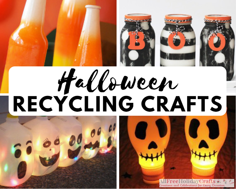 Quot Go Green Quot For Halloween 17 Halloween Recycling Crafts