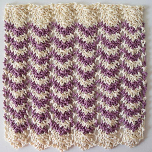 Easy Ripple Washcloth
