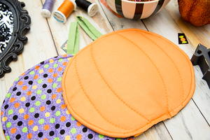 Halloween Pumpkin DIY Pot Holder Tutorial