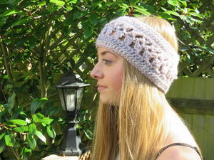 Ocean Kiss Autumn Ear Warmer