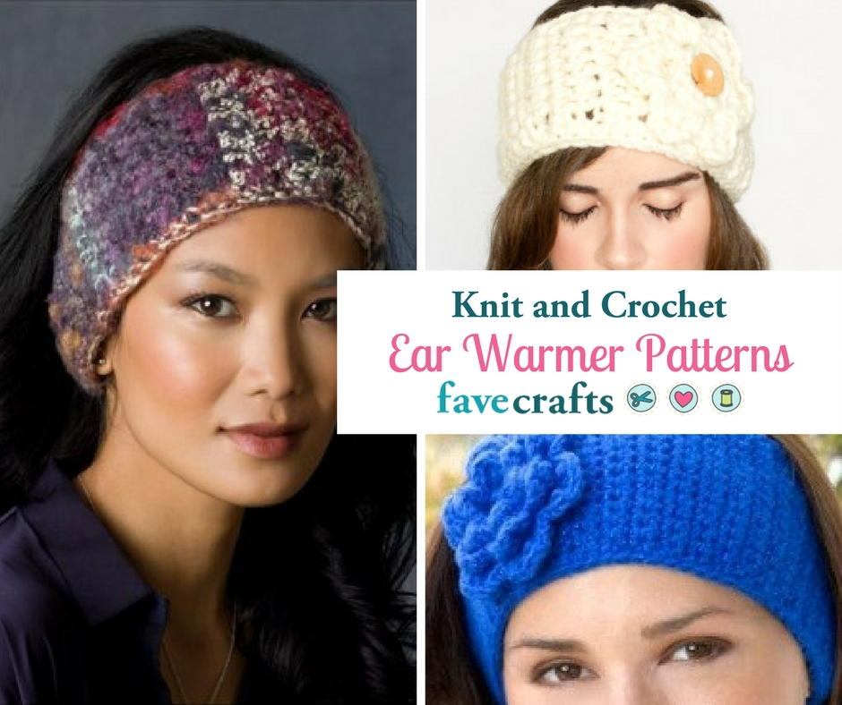 23 Knit Amp Crochet Ear Warmer Patterns Favecrafts Com