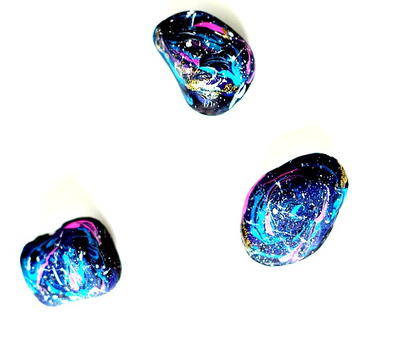 Galaxy Painted Rocks