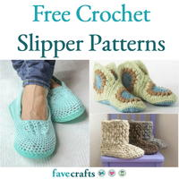 22 Free Crochet Slipper Patterns