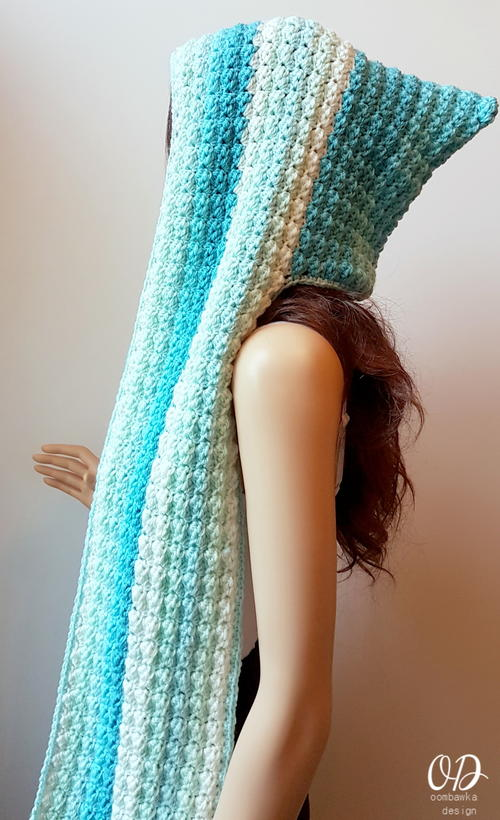 Faerie Mist Hooded Scarf
