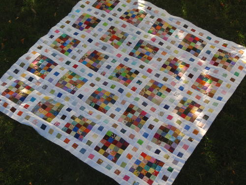 Film at Five Scrap Quilt Pattern