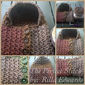 Ginger Spice Hooded Cowl