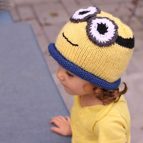 Minion Mayhem Knit Hat