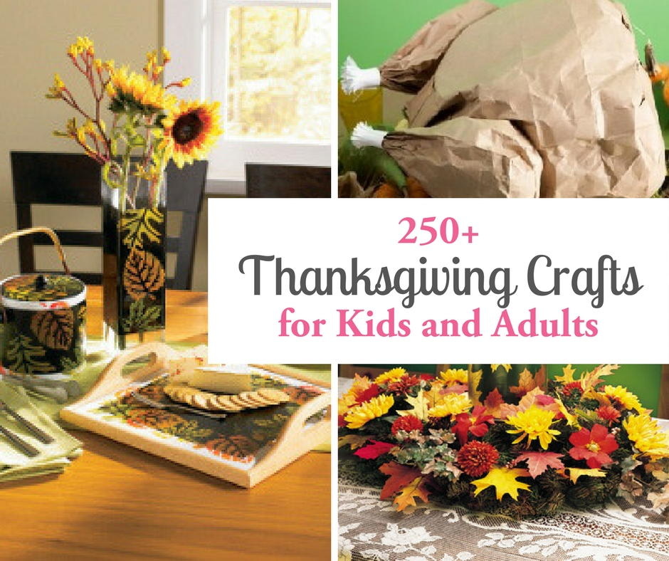 250 thanksgiving crafts for kids and adults. Black Bedroom Furniture Sets. Home Design Ideas