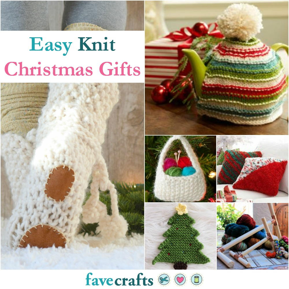 knitting craft ideas 36 easy knit gifts favecrafts 2296