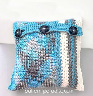 Planned Pooling Throw Pillow