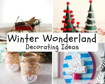 32 Winter Wonderland Christmas Decorating Ideas