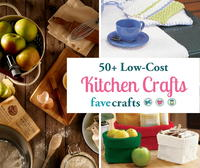 50+ Low-Cost Kitchen Crafts