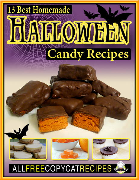 Homemade Halloween Candy Recipes eBook