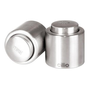 Cilio Stainless Steel Wine Sealer